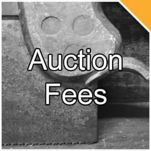 Antique Tool Auction Fees