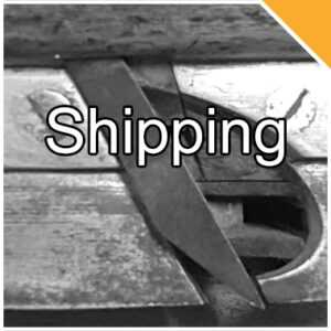 Shipping Antique Tools
