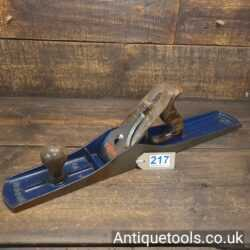 Vintage Woden No: W7 Jointer Plane With a Record Iron