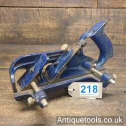 Vintage Record No: 778 Twin Armed Rabbet & Fillister Plane