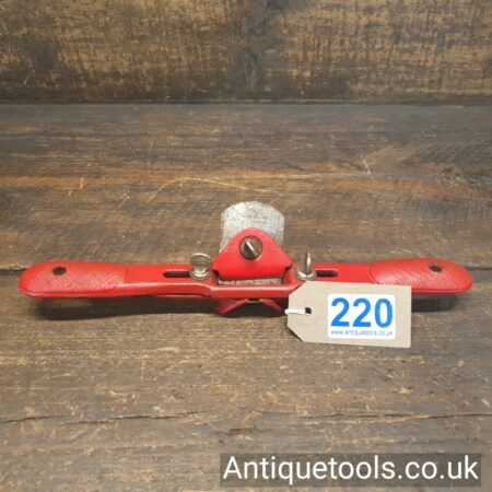 Vintage Record Tools No: A65 Chamfer Spokeshave