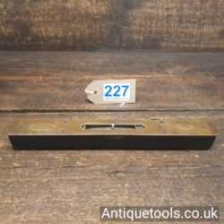 Vintage Rabone and Son's Rosewood and Brass Spirit Level