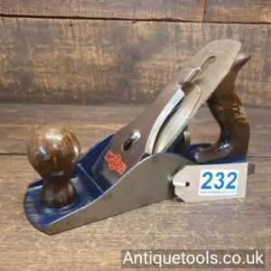 Vintage Woden No: W4 ½ Wide Bodied Smoothing Plane