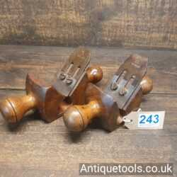 Lot 243 Pair of rather nice vintage Sorby rounding planes
