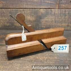 """Antique Early 18th Century Complex 10"""" Moulding Plane by H.FreemaͶ"""