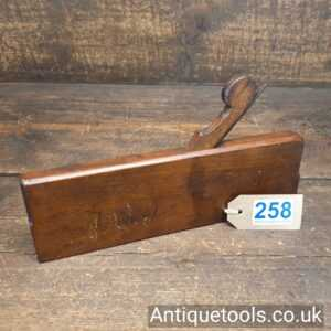 """Antique Early 18th Century 10"""" Moulding Plane by Collison ZB Mark"""