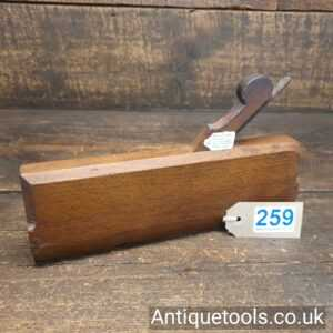 Antique 18th Century No: 16 Hollow Moulding Plane by John Rogers