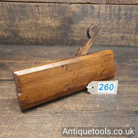 Lot 260 Antique 18th century round moulding plane by John Rogers