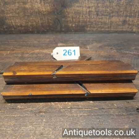 Antique Late 18th Century Higgs Pair of Snipe Bill Moulding Planes