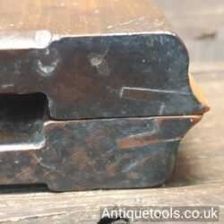 Lot 261Antique late 18th century Higgs pair of Snipe bill moulding planes