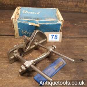 Vintage Record No: 043 Plough Plane Complete With 3 Cutters