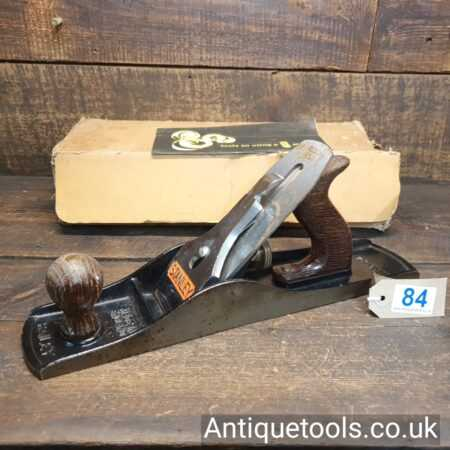 Lot 84Vintage boxed Stanley England No: 5 ½ fore plane