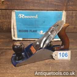 Vintage Record No: 04 ½ Wide Bodied Smoothing Plane