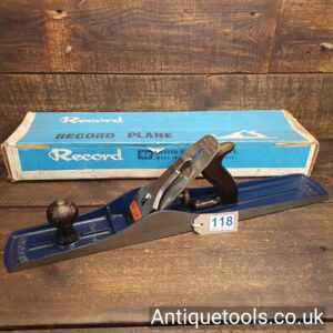Vintage Record No: 07 Jointer Plane Near Mint Boxed