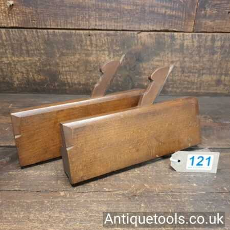 Lot 121 Pair of antique G. Berry, Old Street sash ovolo beechwood moulding planes