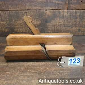 """Antique Griffiths of Norwich 2 ¾"""" Wide Beechwood Moulding Plane"""