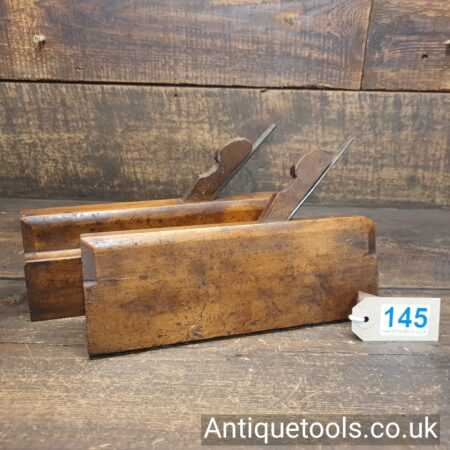 Lot 145Matched pair of vintage Highgate Tool Co. (1919-1934) tongue and groove beechwood planes