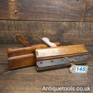 Pair Of Vintage Highgate Tool Co Tongue And Groove Beechwood Planes