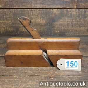 Antique James Newton Ovolo And Astragal Beechwood Moulding Plane