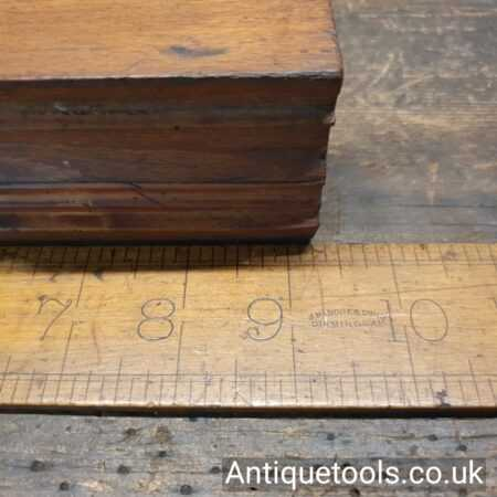 Lot 150Antique 18th century James Newton (c.1785-1791) quirk ovolo and astragal beechwood moulding plane