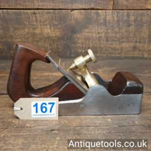 Antique Stewart Spiers Parallel Sided Smoothing Plane