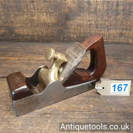 Lot 167Antique Stewart Spiers parallel sided smoothing plane