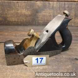 Lot 17: Vintage Norris Post-War No: A5 Smoothing Plane with Engine Turned Sides