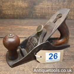 Lot 26: Rare Antique 'The Norfolk' Vintage Smoothing Plane