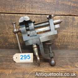 Melhuish Fetter Lane Cast Steel Rotating Jewellers Vice and Anvil