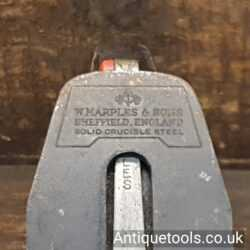 Lot 296 – Vintage Marples X4 Smoothing plane with a good length original iron
