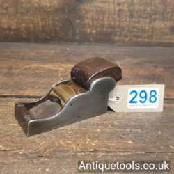 Antique Henry Slater Chariot Plane with a Rosewood Wedge
