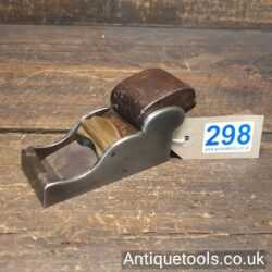 Lot 298Antique Henry Slater Chariot plane with a rosewood wedge