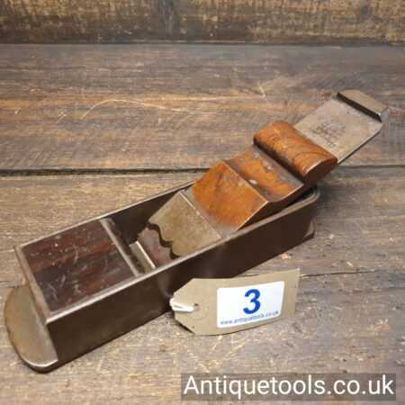 Lot 3: Antique Buck by Norris 8″ Rosewood infill Mitre Plane