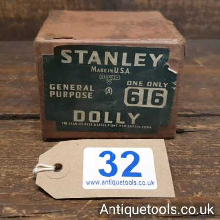 Lot 32 - Vintage Boxed Stanley Sweetheart USA No: 616 metal worker's dolly