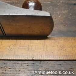 Lot 39 – Vintage Stanley USA No: 5 ¼ jack plane with original iron and rosewood handles