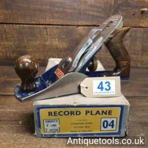 Vintage 1950's Record No: 04 Smoothing Plane