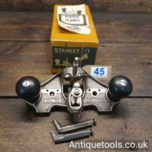 Vintage Stanley England No: 71 Hand Router Plane