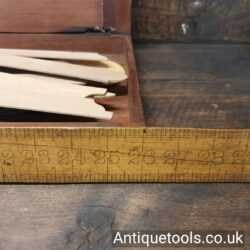 Lot 61 – Mahogany boxed set of 25 Stanley, London plus 8 other vintage curve technical drawing templates